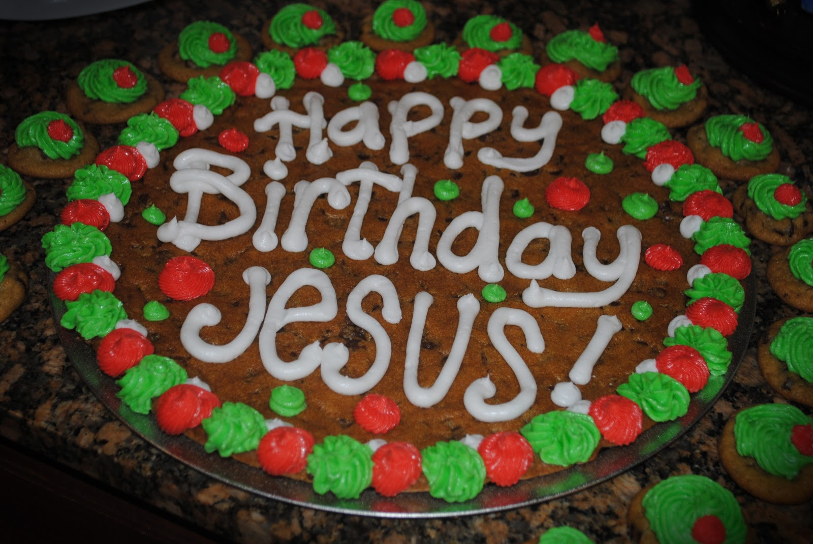 Candaces Cookie Creations Happy Birthday Jesus Cookie Cakes