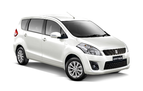 Suzuki Ertiga Pearl White