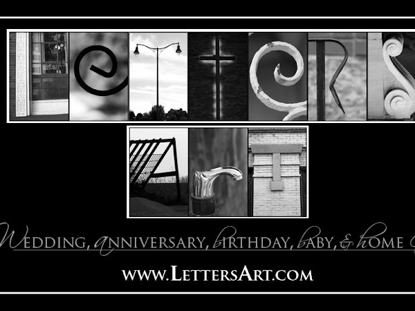 Letters Art (Review & Giveaway- CLOSED)