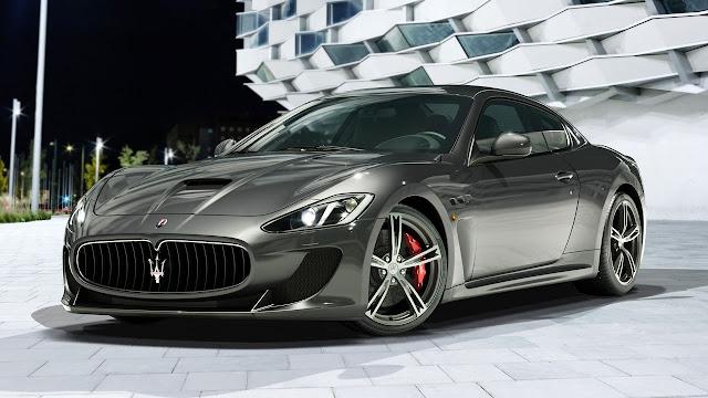 Maserati four seater Granturismo MC Stradale