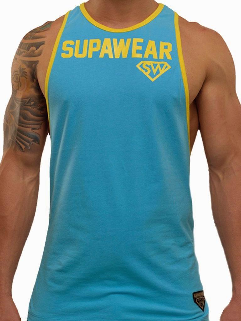 Supawear Supreme Tank Top Cyan Gayrado