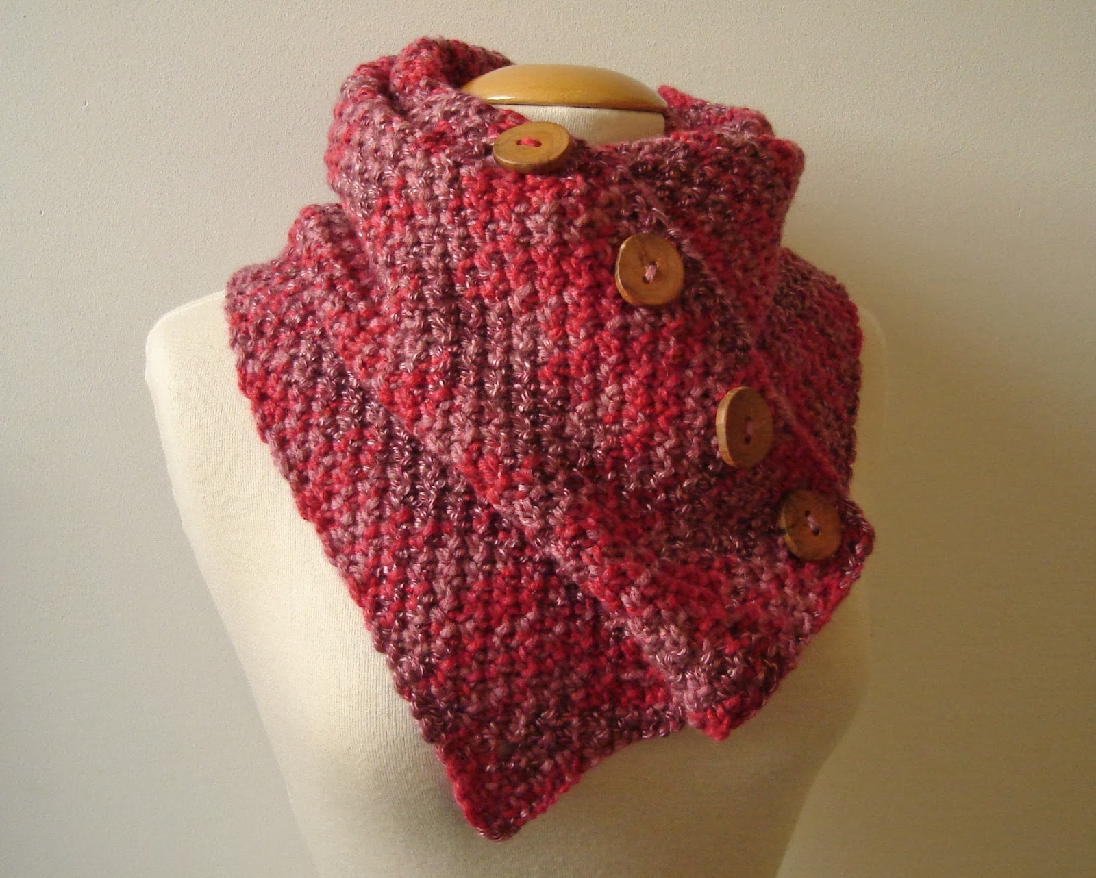Knitting Pattern For Snood Scarf : HandmadeHandsome, handmade items and knitting patterns ...