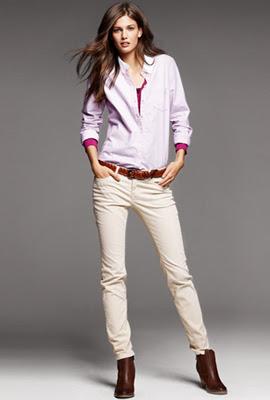 H&M pantalones mujer de pana