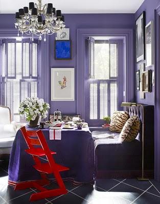 Love, Lace, Luxe: Decorating Inspiration: Royal Purple