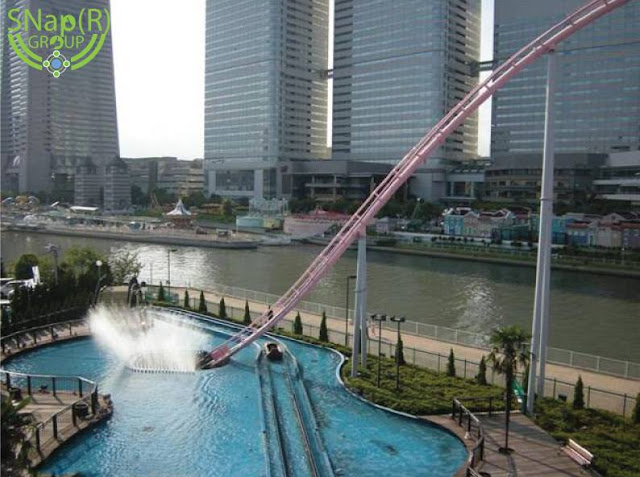 Amazing Underwater Rollercoaster that's found in Japan
