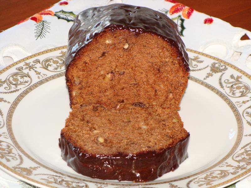 Pan de especias (Piernik) corte