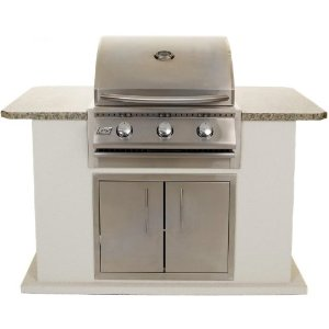 Rcs Junior 26 Inch Natural Gas Grill With Bbq Island