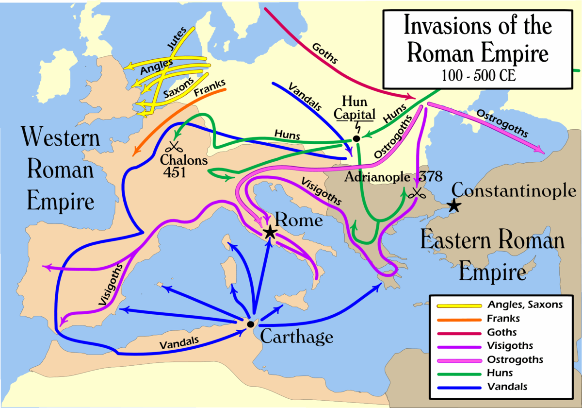 the end of the roman era The roman empire was the post-republican period of the ancient roman civilisation, characterised by an autocratic form of government, headed by an emperor, and large.