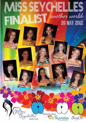 miss seychelles 2012 candidates contestants delegates