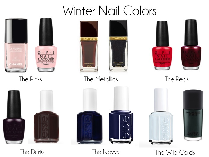 Boots Scarves Hats Cute Coats All Make Winter So Much Fun But My Favorite Trend Of Nail Polish