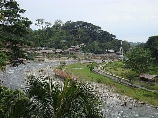 Objek wisata Bukit Lawang Sumatera Utara 3