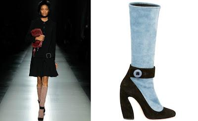 Prada's Trompe l'Oeil Boots