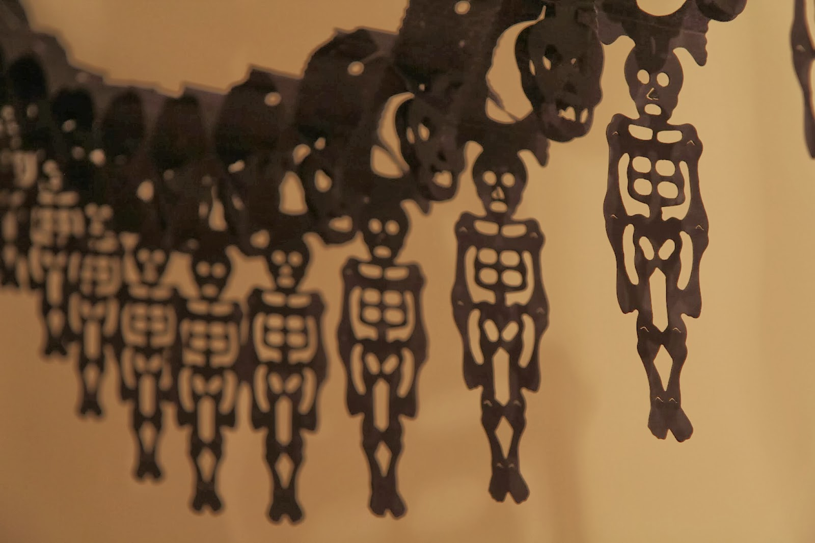 Paper Skeletons 2; Hauntify Your House for Halloween