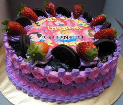 kek4u homemade cakes and chocolate kek gambar disney princess