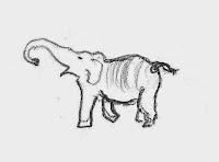 Elephant source drawing