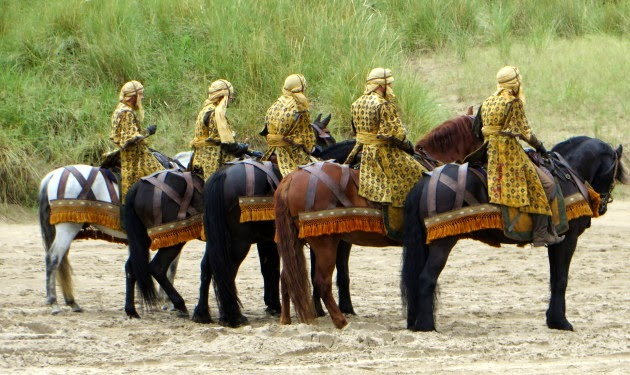 Game of Thrones - Season 5 - Filming Completed at Portstewart Strand with BTS Photos