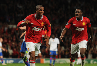 Ashley young manchester united basel champions league