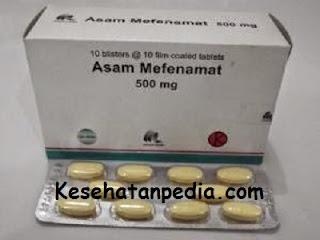 Kegunaan Asam mafenamat 500 mg untuk sakit gigi