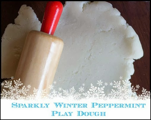 Winter Peppermint Play Dough