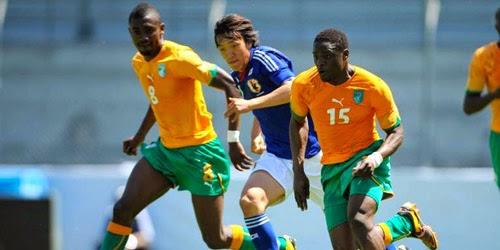 Pantai Gading Berhasil Kalahkan Jepang 2-1