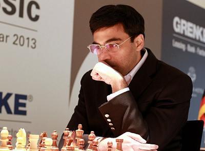 Viswanthan Anand - Photo © Grenke Chess Tournament