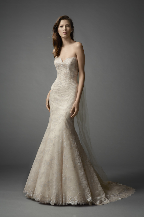 Hermosos vestidos de novias | Colección Watters Primavera 2016