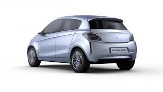 Mitsubishi E-Compact Concept Pictures