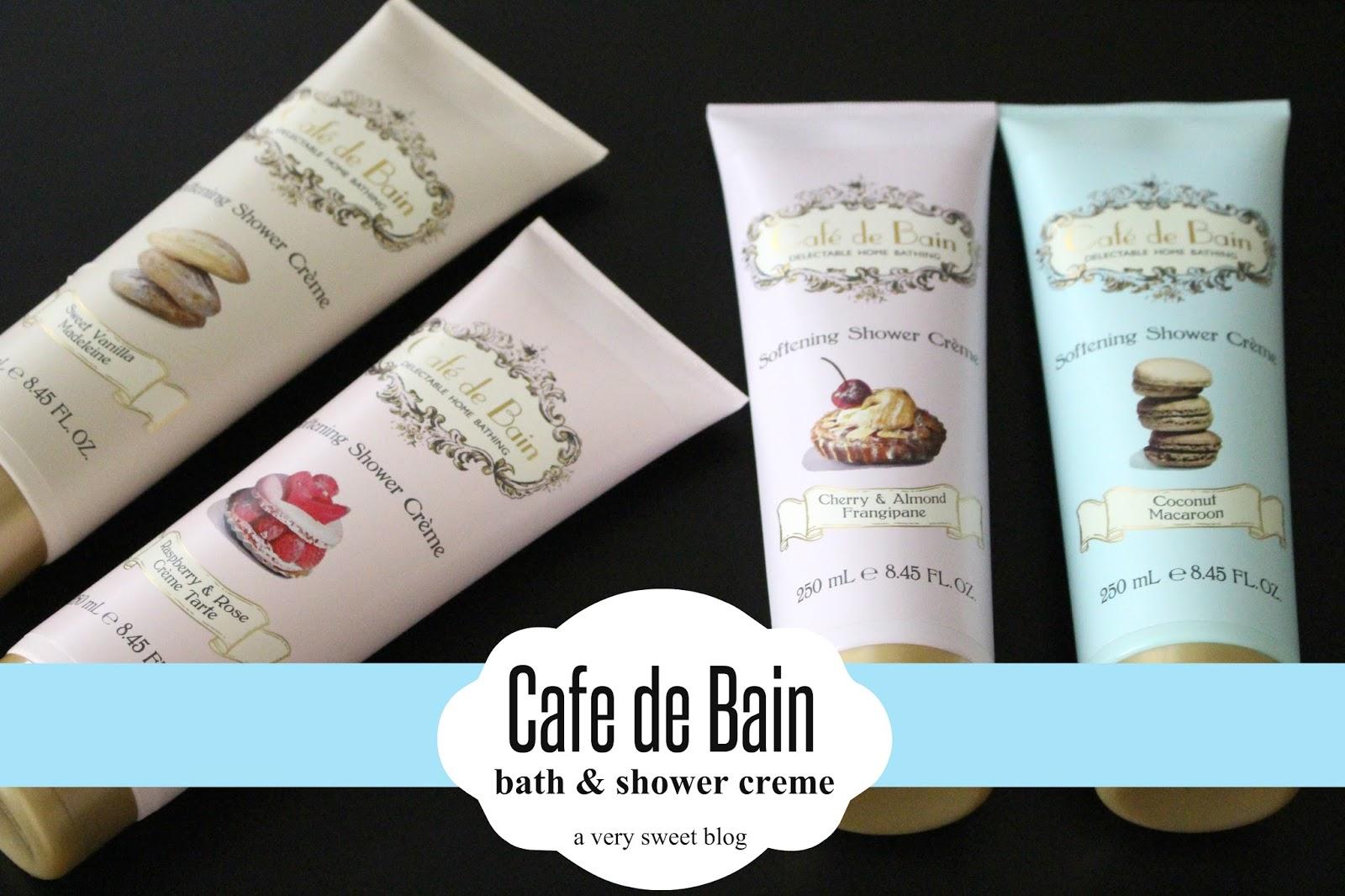 Cafe de Bain Bath & Shower Creme Review | A Very Sweet Blog
