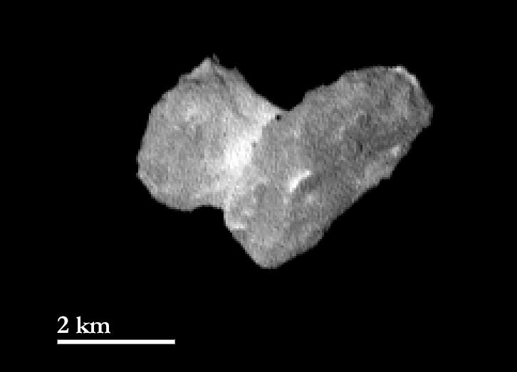 Rosetta Osiris Cam: Cometa 67P 29 de Julio de 2014