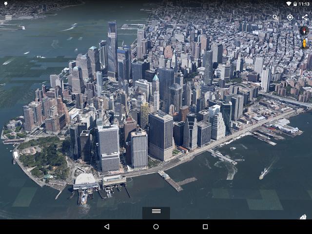Google Earth for Android อัพเดตครั้งใหญ่ เปลี่ยนเอนจิน 3 มิติใหม่