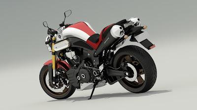 Yamaha MT-01 images