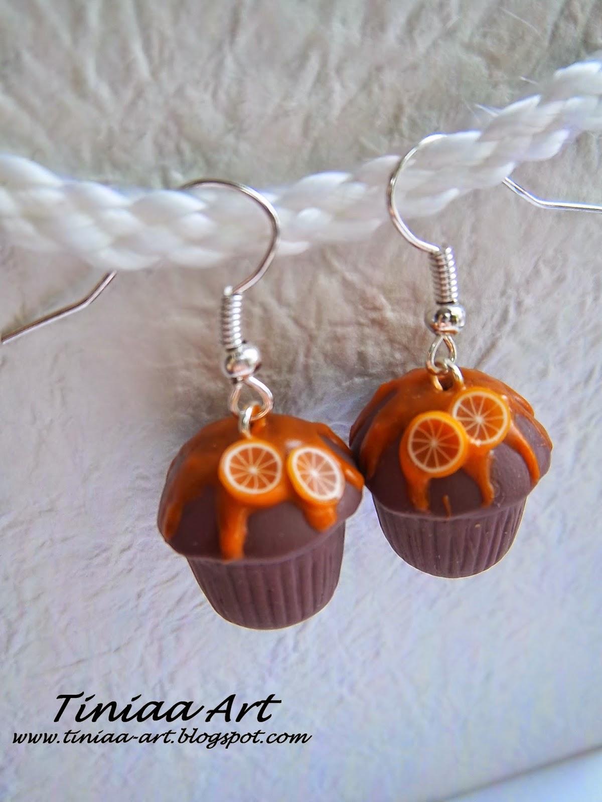Czekoladowe muffinki z modeliny