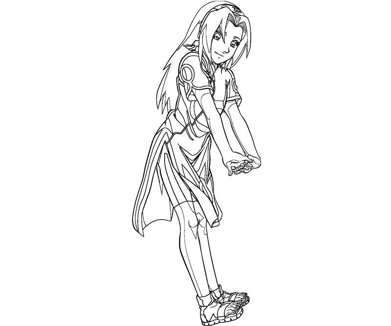 sakura haruno coloring pages - photo#34