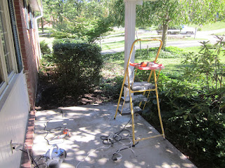 Patio Creation Before