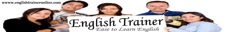 English Trainer Online