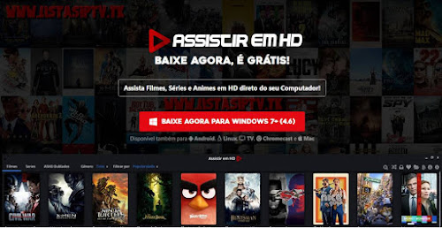 Downlload - Assistir em HD - Windows/PC v0.4.6 - Mais de 10 mil Filmes e Séries de TV no seu PC