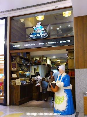Abuela Goye: Fachada da loja do Salvador Shopping