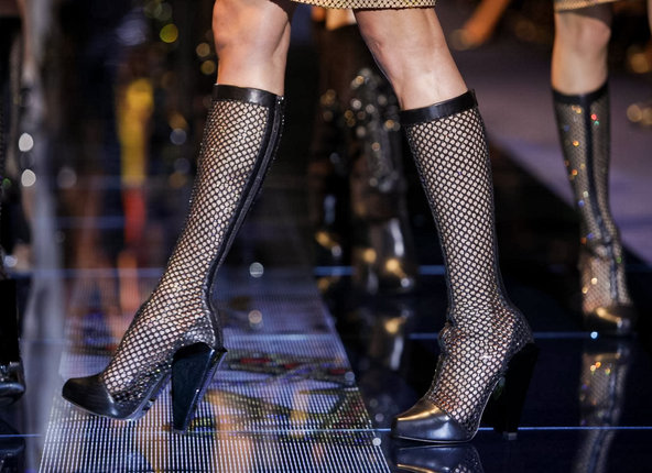 Versace Fall/Winter 2012 Boots