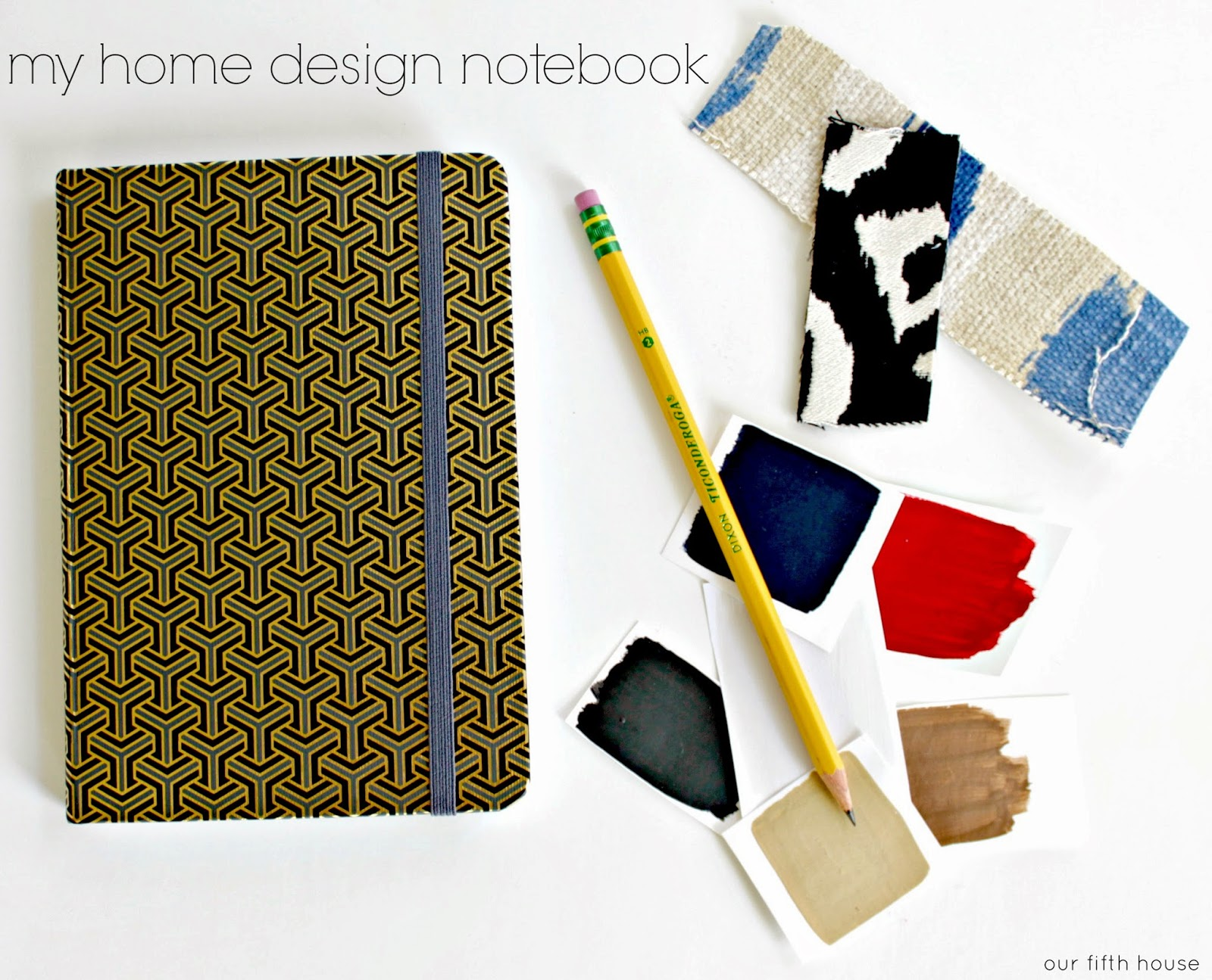 diy design tip: create a my home design notebook