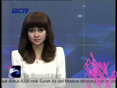 foto-foto dari news achor Presenter Cantik RCTI Zurayda Salim untuk