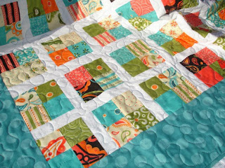 Modern Baby Lap Quilt