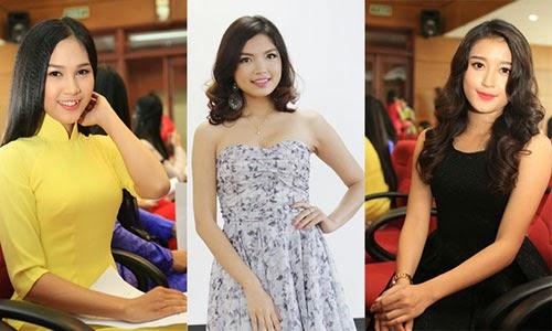 Danh sách thí sinh dự chung khảo Hoa hậu Việt Nam khu vực phía Bắc