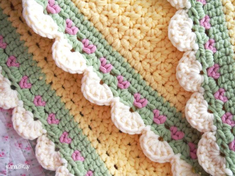 Luxury Tiramisu Baby Blanket Crochet Pattern Component Sewing