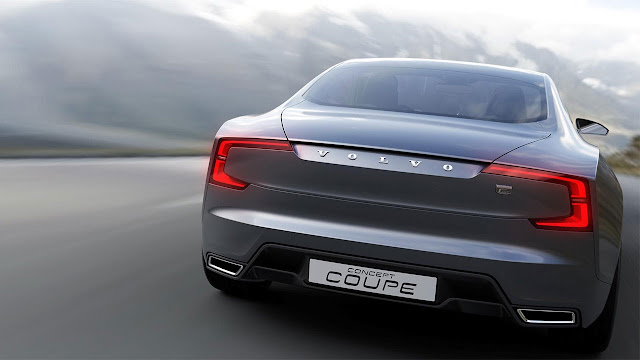 Volvo Concept Coupé - The next generation P1800 (rear)