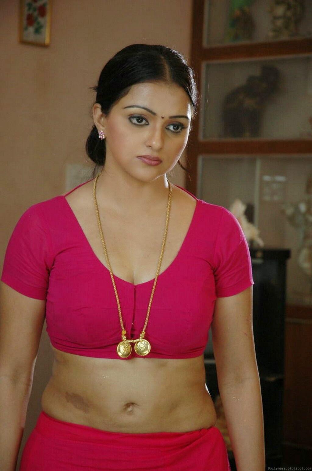 Sonali Joshi Hot In Pink Blouse Without Saree HD Photos - SAREE BELOW ...