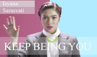 Lirik Dan Chord Gitar Isyana Sarasvati - Keep Being You