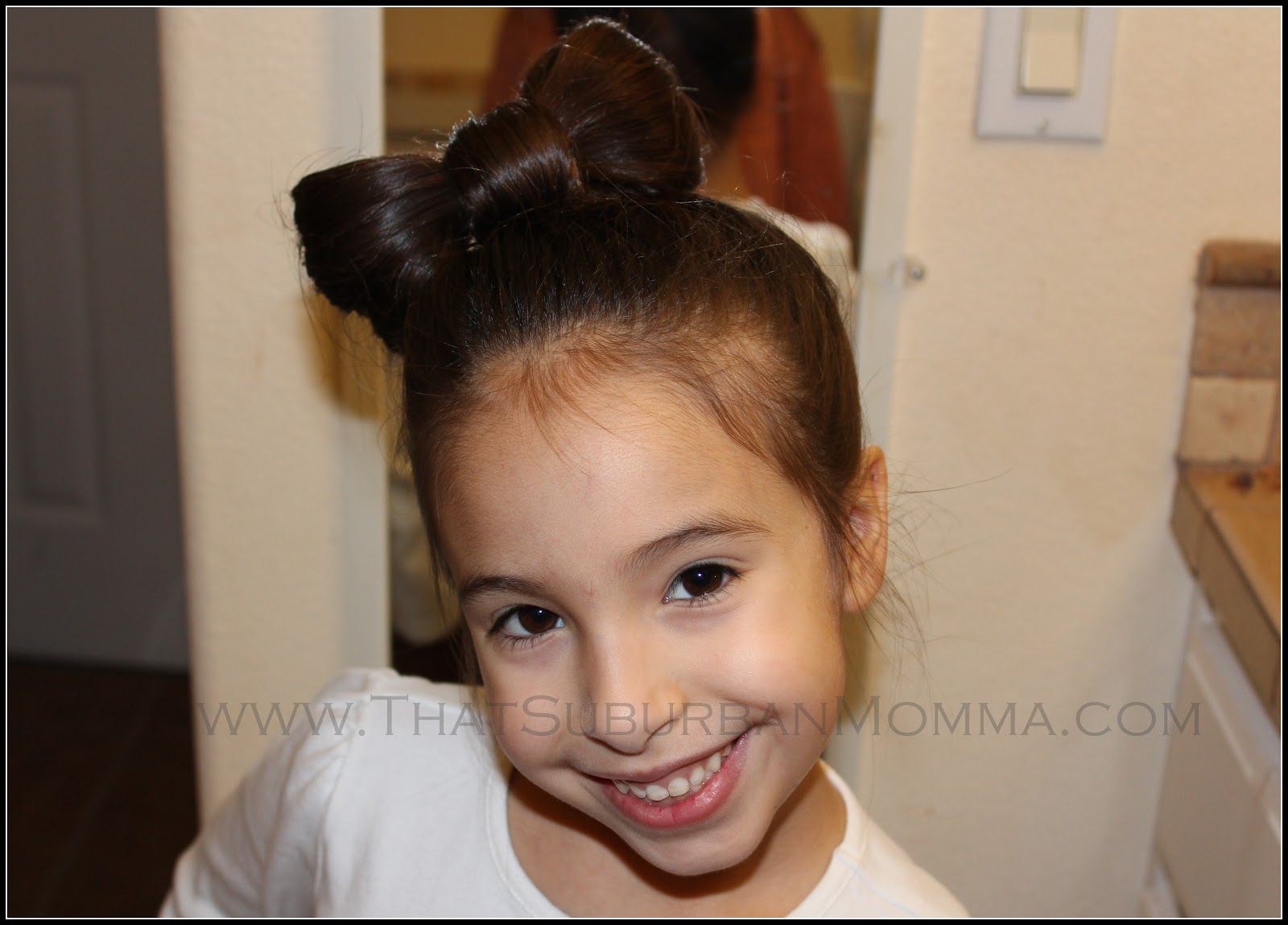 Bow Hairstyle Step by Step