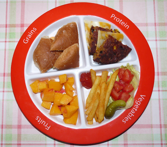 MyPlate portion Zoe's Lunchbox