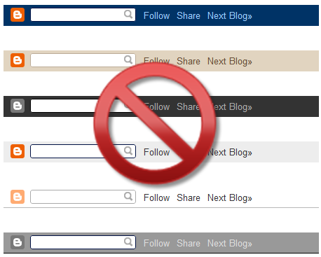 how to remove or hide blogger navbar danukazone