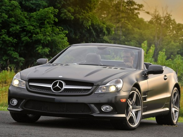 2011 mercedes benz sl550 night limited edition new cars for Mercedes benz sl550 price